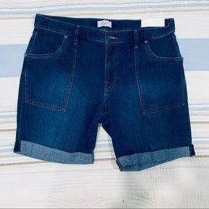 Ann Taylor Loft Boyfriend Shorts Size 10